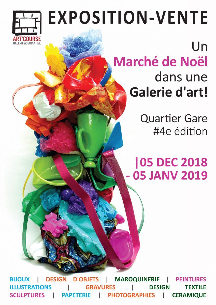 Un Marché de Noël dans une Galerie d'Art , Quartier Gare #4