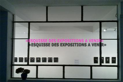 Esquisse des expositions à venir