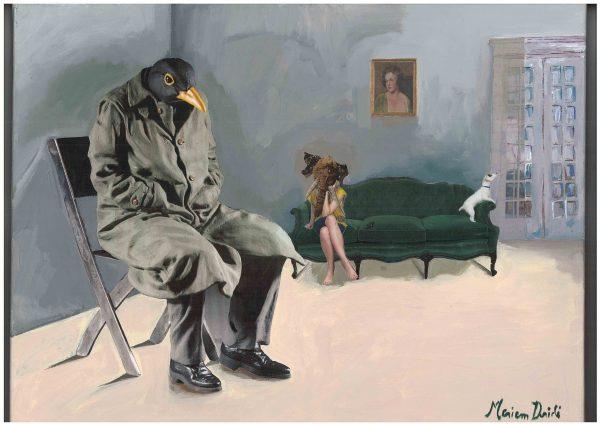 Meriem Dridi - La salle de séjour