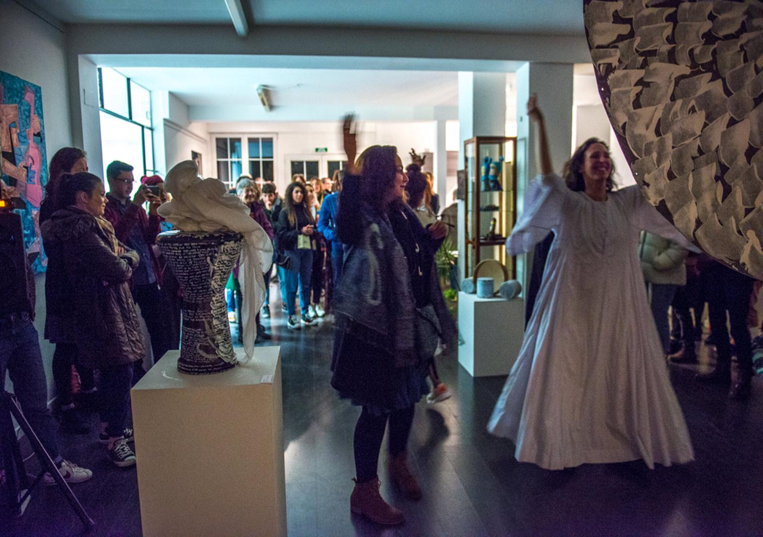 Vernissage à la Galerie Art'Course à Strasbourg