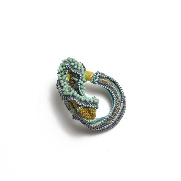 Bracelet paysage organique