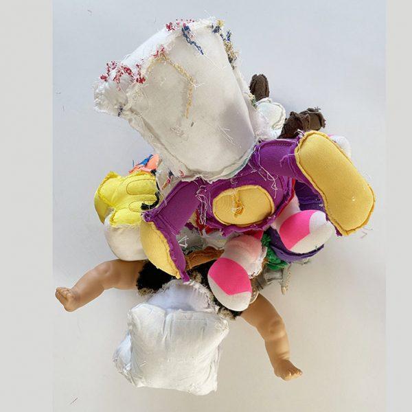 Pet 1 sculpture textile